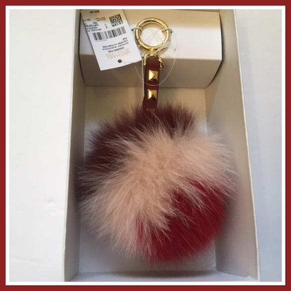 5eca3a6c451 Michael Kors Lollipop Lg Pom Pom Keychain NWT